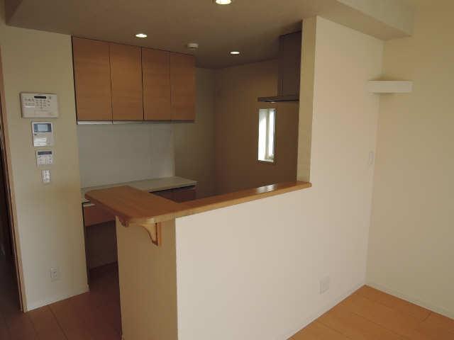 301号室キッチン