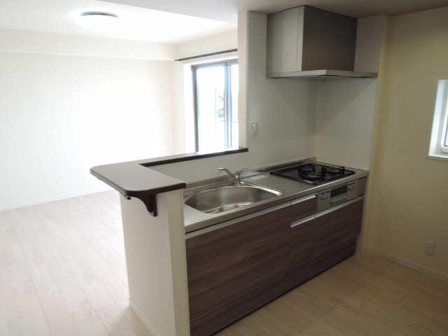 302号室キッチン2