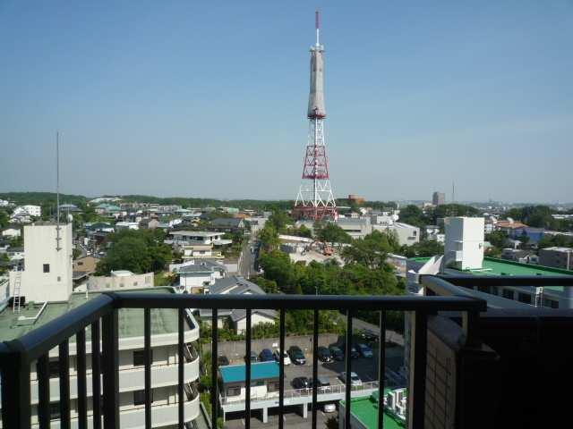 山手通シティハウス 1001号 リビングからの眺望